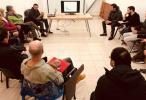 Funcionarios de la Minera Triton se reunieron por invitacion de la camara de comercio local