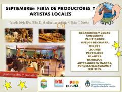 Sabado de Feria de Productores gregorenses!