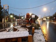 Se vino la nieve a gregores!!