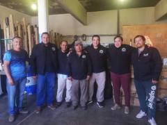 Vidal realizo entrega de Indumentaria de Verano al personal del Corralón Municipal