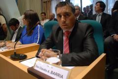 El Diputado Barria destaco leyes que se aprobaron en la ultima sesión