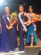 Nancy Rivera fue elegida Primera Princesa en la Fiesta Nacional del Lago