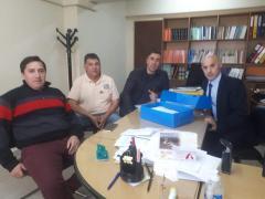 El Intendente Vidal en Conjunto con el Diputado Barria y el Concejal Baldoni realizaron la presentación ante la Justicia por los aumentos en el Gas