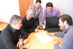 El vicegobernador junto al intendente Casarini analizaron el plan de obras